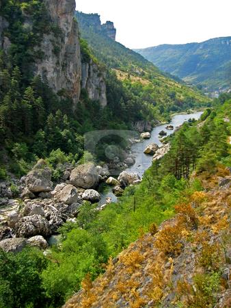 Gorges du Tarn / Tarnschlucht stock photo,  by Wolfgang Heidasch