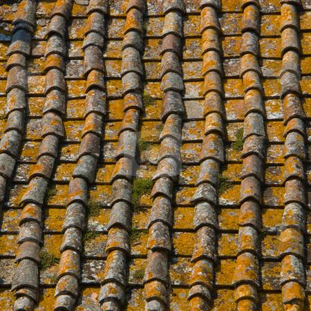 Ziegeldach in der Toskana stock photo, Ziegeldach in der Toskana by Wolfgang Heidasch