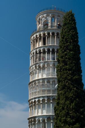 Der gerade Turm zu Pisa, Toskana stock photo, Der gerade Turm zu Pisa, Toskana by Wolfgang Heidasch