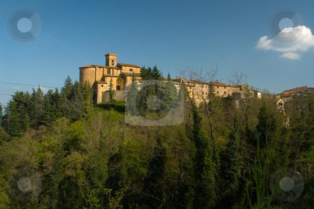 Stadtansicht eines toskanischen Dorfes stock photo, Stadtansicht eines toskanischen Dorfes by Wolfgang Heidasch