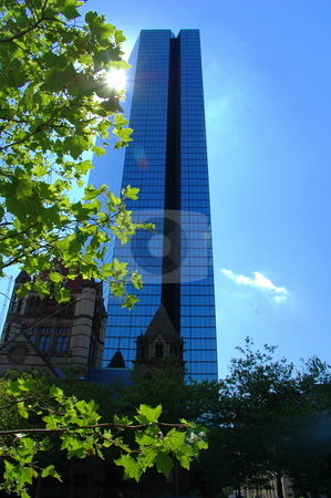 Tall Bulding Landmark stock photo,  by Richard Sheehan