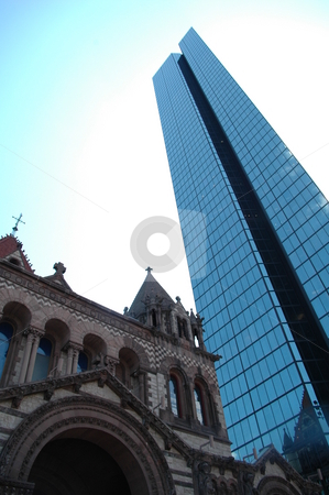 Tall Building Landmark stock photo,  by Richard Sheehan