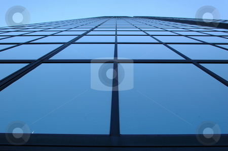 Towering Glass stock photo,  by Richard Sheehan