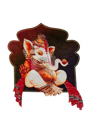 Ganesha stock photo, Beautiful picture of Ganesha an hindu god by Arvind Balaraman