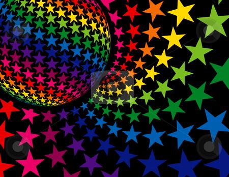Super Disco Background stock vector clipart, Super Disco Background by Adrian Sawvel
