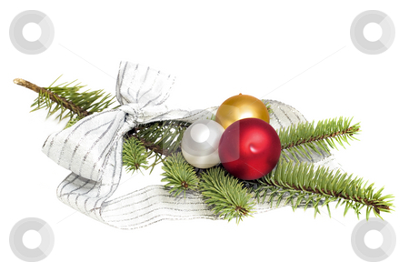 Wreath stock photo, Christmas decoration by Marek Kosmal