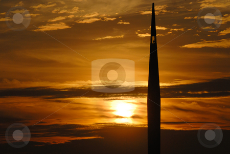 Lamp Tower stock photo, Lamp Tower by Jaggat Images