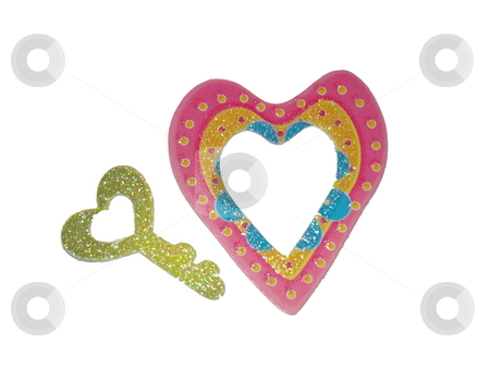 Valentine's Day stock photo, Valentine's day my heart holds the key by CHERYL LAFOND