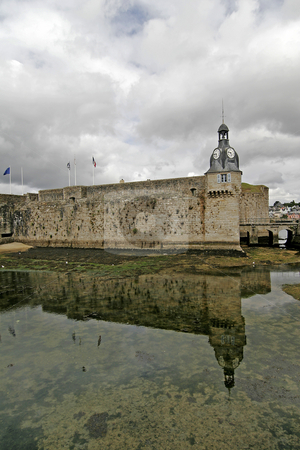 Concarneau, Ville Close, Brittany, Northern France stock photo, Concarneau, Ville Close, Brittany, Northern France by Lothar Hinz
