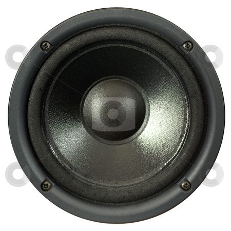 Loudspeaker stock photo, A loudspeaker by Peter Soderstrom