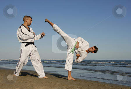 Taekwondo stock photo,  by Bonzami Emmanuelle