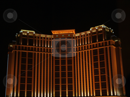 Palazzo Hotel stock photo, The Palazzo hotel and casino in Las Vegas, Nevada, USA by Kevin Tietz