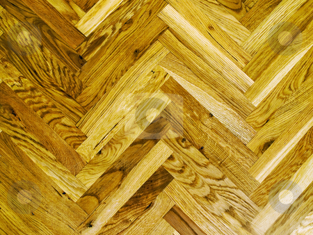 Parquet stock photo, Wooden parquet's pattern usable for backgrounds and texture. by Sinisa Botas