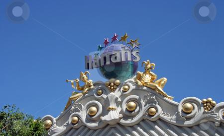 Harrahs Hotel and Casino stock photo, An exterior shot of Harrahs hotel and casino in Las Vegas by Kevin Tietz