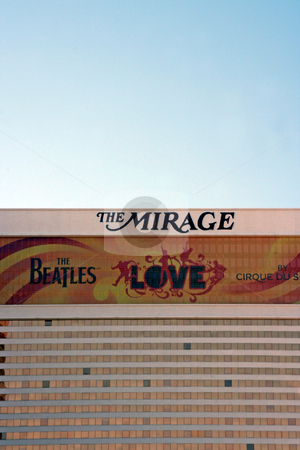 Mirage Hotel stock photo, A exterior shot of The Mirage casino and hotel in Las Vegas by Kevin Tietz