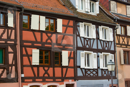 Fachwerkh?user in Colmar, Frankreich - Half-timbered houses in Colmar, France stock photo, Fachwerkh?user in Colmar, Frankreich - Half-timbered houses in Colmar, France by Wolfgang Heidasch