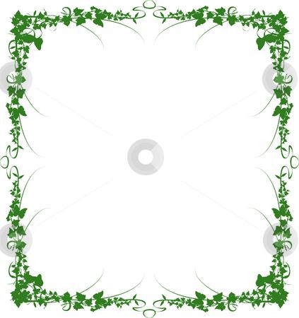 Green Vine Border Clip Art