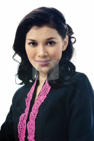Malay Girl with Traditional Wear - cutcaster-photo-100171892-Malay-Girl-with-Traditional-Wear