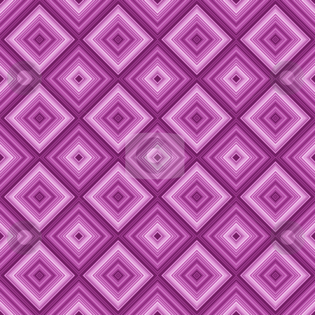 Seamless pink color diamond pattern background. stock photo, Seamless pink color diamond pattern background. by Stephen Rees