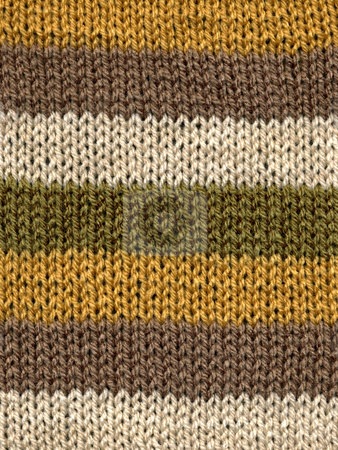 Knitted wool stripes close up background. stock photo, Knitted wool stripes close up background. by Stephen Rees