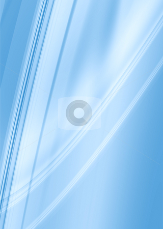 Smooth light blue stock photo, Blue and white abstract background with copy space by Michael Travers
