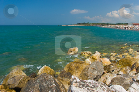 Tyrrenische K?ste - tyrrenic coast stock photo, Bei Cecina Mare, Toskana - At Cecina Mare, Tuscany by Wolfgang Heidasch