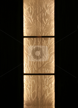 Glass Bamboo stock photo, Glass bamboo panes that make an artistic background by Kevin Tietz