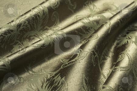 Elegant Silk Material Background stock photo, Elegant Silk Material Background Abstract by Andy Dean