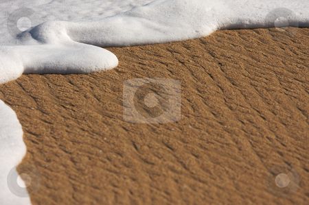 Tropical Sand and Sea Foam stock photo, Tropical Sand and Sea Foam by Andy Dean