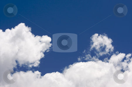 White Cumulus Clouds stock photo, White Cumulus Clouds off the coast of Kauai, Hawaii by Andy Dean