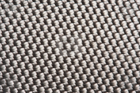 Sturdy Nylon Macro Background stock photo, Sturdy Nylon Weave Macro Background Pattern by Andy Dean