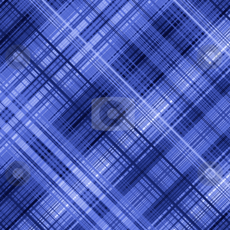 Dark blue color lines grid pattern abstract background. stock photo, Dark blue color lines grid pattern abstract background. by Stephen Rees