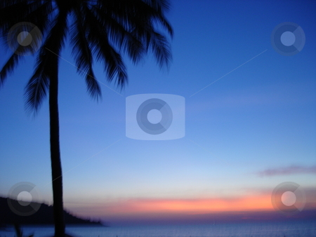 Sunset in Thailand stock photo,  by Ritu Jethani