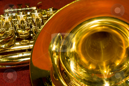 Trumpet stock photo, Trumpet by Andrey Butenko