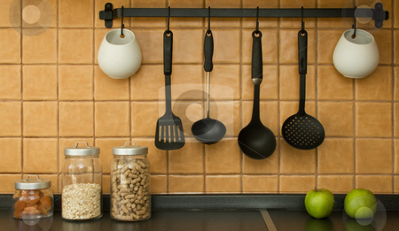 Kitchen tools stock photo,  by Andrey Butenko