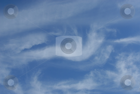 Clouds in the sky stock photo, Clouds in the sky drifting away in a light breeze by Joanna Szycik