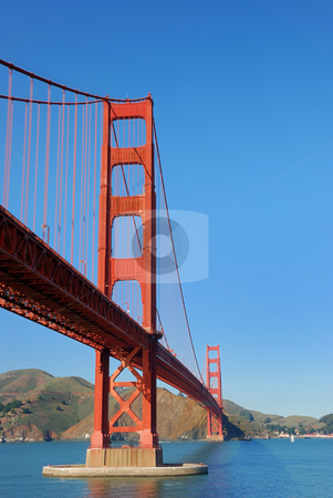 Golden Gate Bridge in San Francisco stock photo, Golden Gate Bridge in San Francisco on a sunny afternoon by Denis Radovanovic