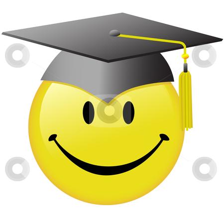 Happy Graduation Smiley Face