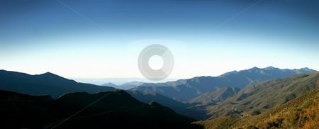 Los Padres National Forest stock photo, Landscape shot of the Los Padres National Forest. by Henrik Lehnerer