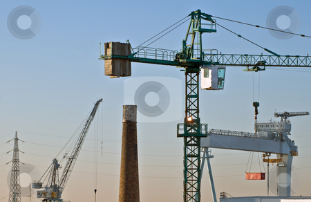 Industry stock photo, Different kind of industrial activities by Massimiliano Leban