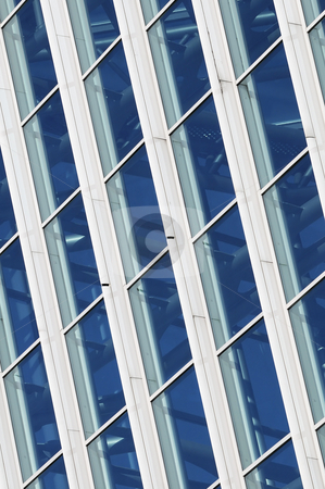 Windowed wall stock photo, Detail of windows of a building by Massimiliano Leban