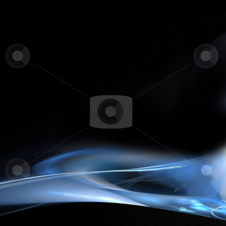 Modern Page Layout stock photo, A cool background layout with 3d abstract lines - very modern.  Great for ads. by Todd Arena