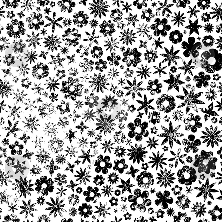 black and white pictures of flowers to print. Black and White Grunge Flowers