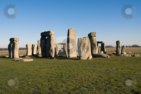 Stonehenge stock photo, The stones of Stonehenge, England, UK by Paul Phillips