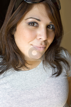 Pretty Puerto Rican Girl stock photo, A cute Puerto Rican girl in her ...
