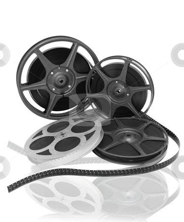 16 mm film reel stock photo,  by Sinan Durdu