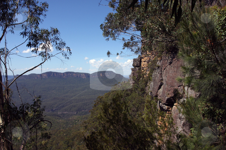 Blue Mountains National Park stock photo, The Blue Mountains National Park is a national park in New South Wales, Australia by Christopher Meder