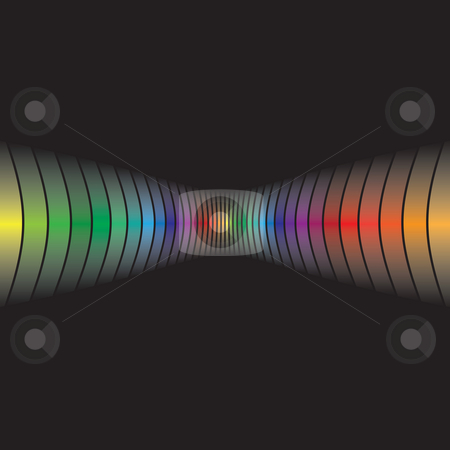 Abstract Rainbow Layout stock photo, An abstract design template with plenty of copyspace. by Todd Arena