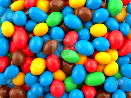 Some sweet? stock photo, Many coloured candies by Matteo Malavasi