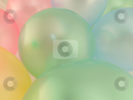 Balloons stock photo, Background of many coloured balloons by Matteo Malavasi